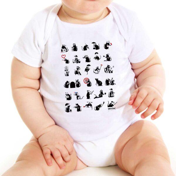 Camisa - Pattern Rats 4