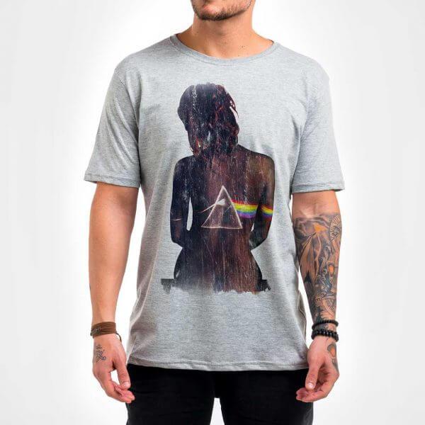 Camisa Masculina Mescla - Dark Side 2