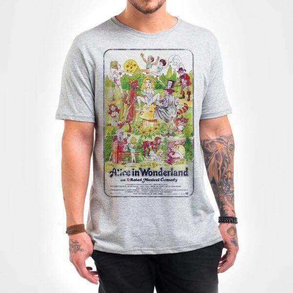 Camisa Masculina Mescla - Alice 1