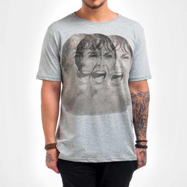 Camisa Masculina Mescla - Psicose 1