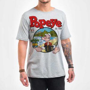 Camisa Masculina – Popeye in Rio