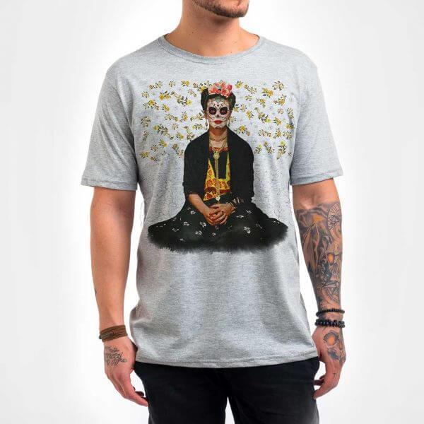 Camisa Masculina Mescla - Frida 2