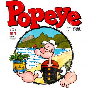 Camisa Feminina – Popeye in Rio