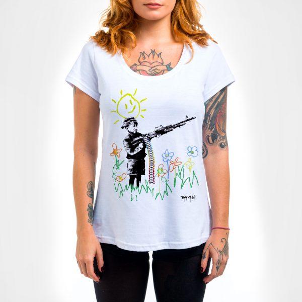 Camisa Feminina - Cryon Gun 3