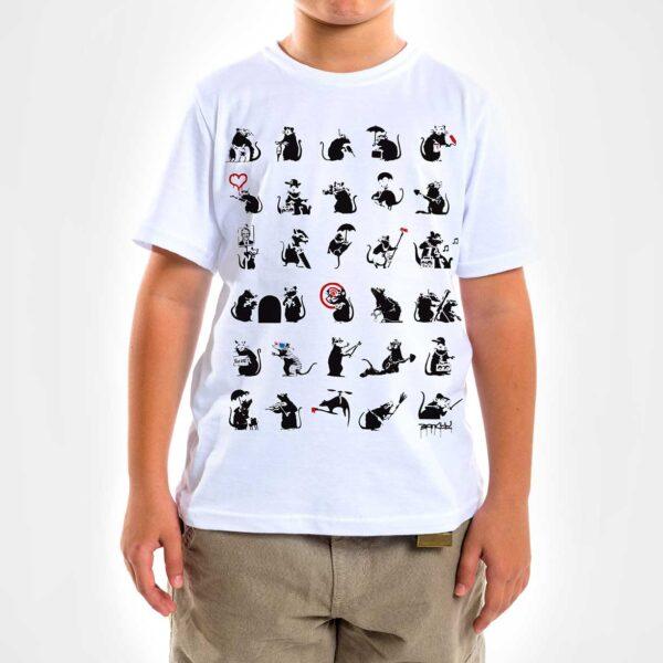 Camisa - Pattern Rats 3