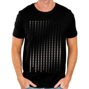 Camisa Masculina Preta – Calendário Lunar