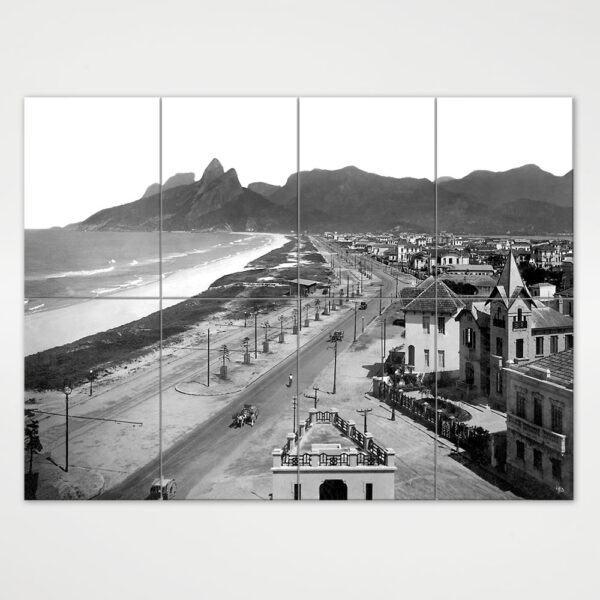 Painel Modular - Praias de Ipanema e Leblon - Ano 1929 3