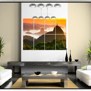 Painel Modular – Floresta da Tijuca, Cristo e Pão de Açúcar