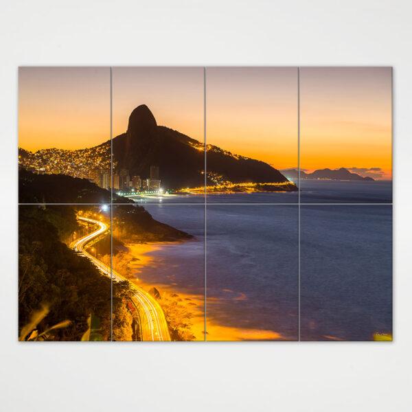Painel Modular - Avenida Niemeyer e Morro Dois Irmãos 3