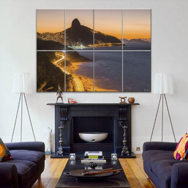 Painel Modular - Avenida Niemeyer e Morro Dois Irmãos 4