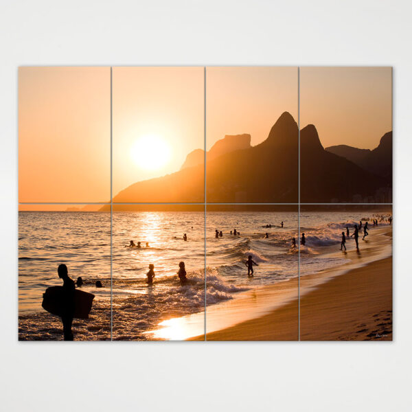 Painel Modular - Morro Dois Irmãos, Pedra da Gávea e Praia de Ipanema 3