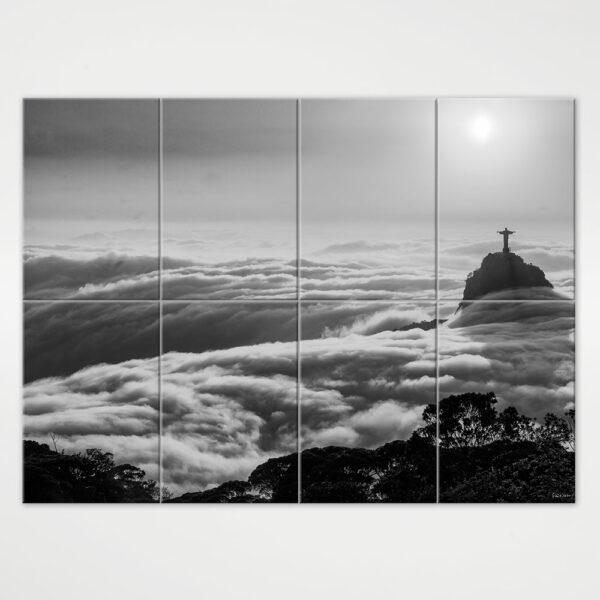 Painel Modular - Nascer do Sol com Nevoeiro no Rio de Janeiro 3