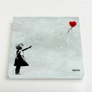 Quadro Canvas – Balloon Girl
