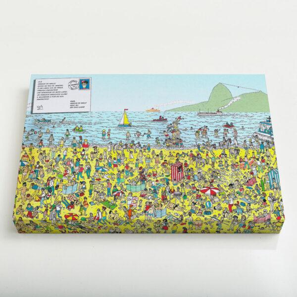Quadro Canvas - Wally in Rio 1