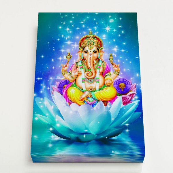 Quadro Canvas - Ganesha 4