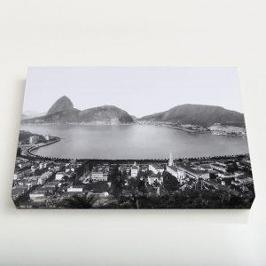 Quadro Canvas – Enseada de Botafogo – Ano 1930