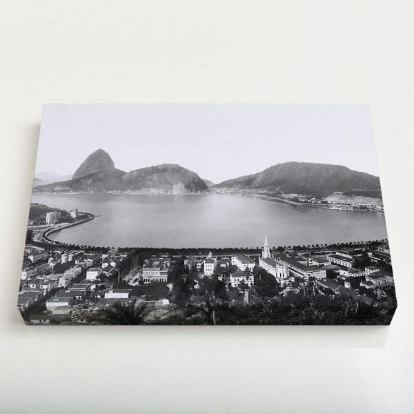 Quadro Canvas - Enseada de Botafogo - Ano 1930 1