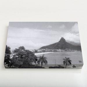 Quadro Canvas – Lagoa Rodrigo de Freitas –  Ano 1937