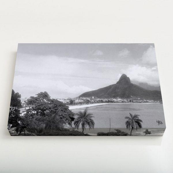 Quadro Canvas - Lagoa Rodrigo de Freitas - Ano 1937 1