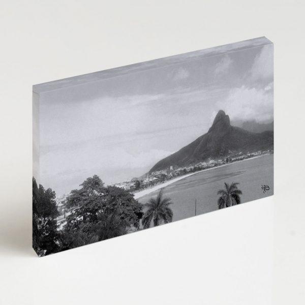 Quadro Canvas - Lagoa Rodrigo de Freitas - Ano 1937 2