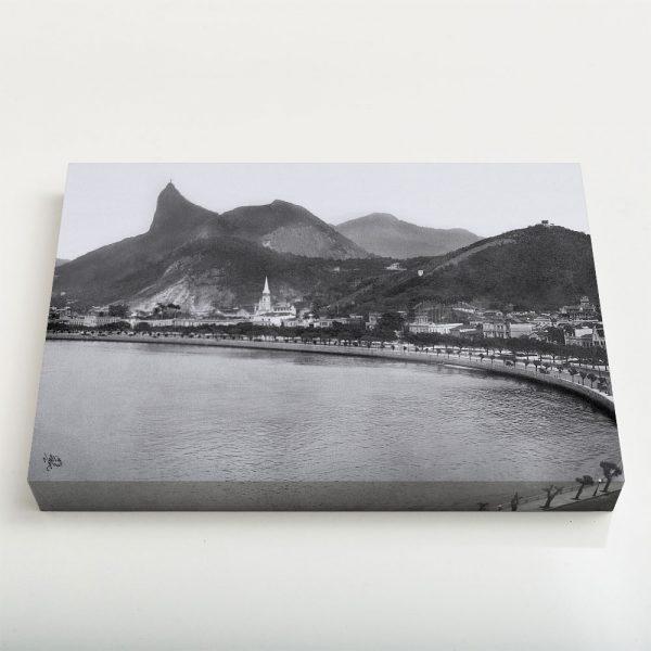Quadro Canvas - Enseada de Botafogo - Ano 1920 - 2 1