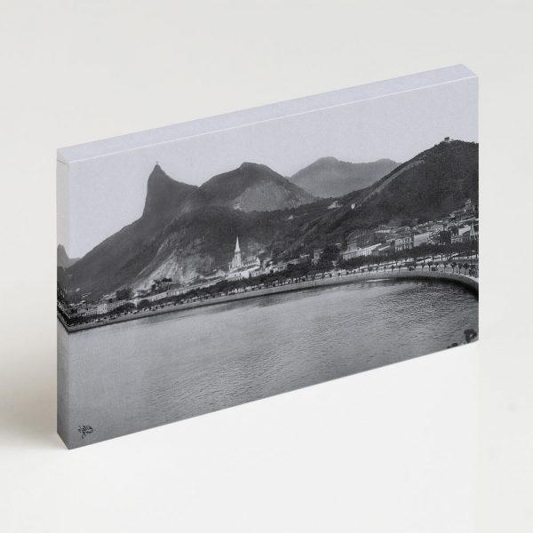 Quadro Canvas - Enseada de Botafogo - Ano 1920 - 2 2