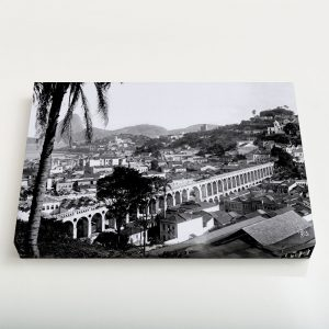 Quadro Canvas – Arcos da Lapa – Ano 1912