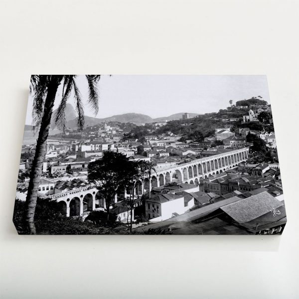 Quadro Canvas - Arcos da Lapa - Ano 1912 1