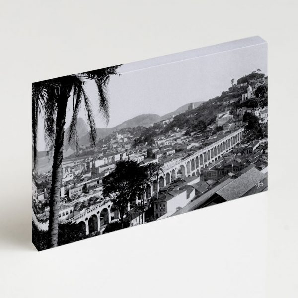 Quadro Canvas - Arcos da Lapa - Ano 1912 2