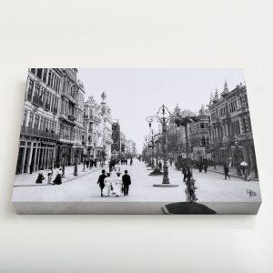 Quadro Canvas – Avenida Central – Ano 1905
