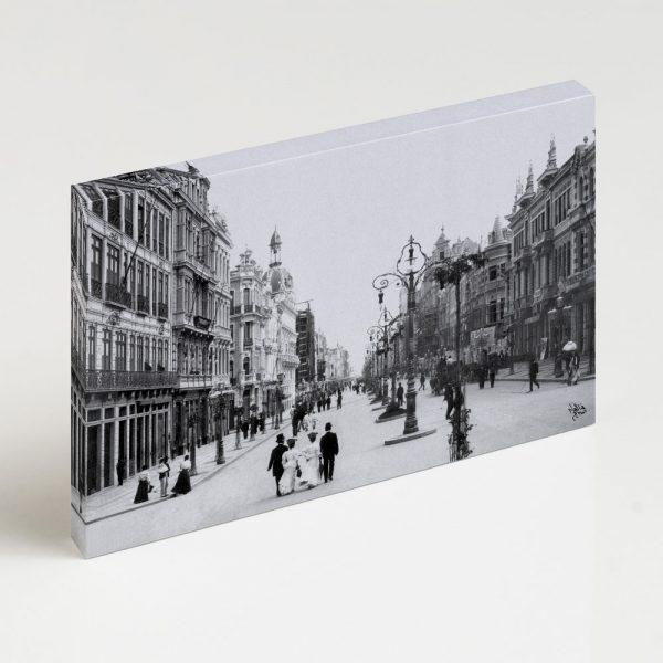 Quadro Canvas - Avenida Central - Ano 1905 2