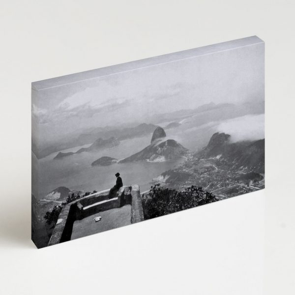 Quadro Canvas - Vista do Corcovado - Ano 1910 2