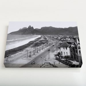 Quadro Canvas – Praias de Ipanema e Leblon – Ano 1929