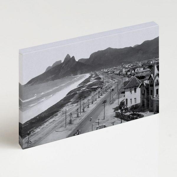 Quadro Canvas - Praias de Ipanema e Leblon - Ano 1929 2
