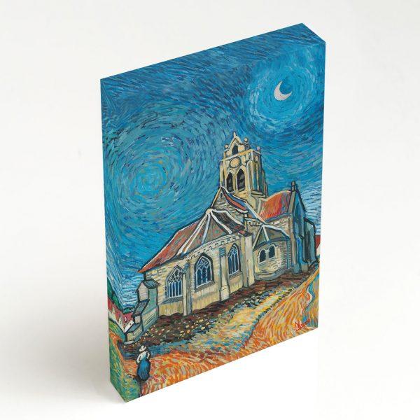 Quadro Canvas - A Igreja em Auvers 5