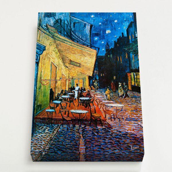 Quadro Canvas - Terraço do Café na Praça do Fórum 4
