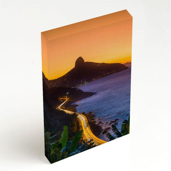 Quadro Canvas - Avenida Niemeyer e Morro Dois Irmãos 2