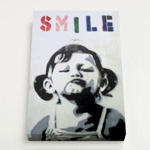 Quadro Canvas – Smile Girl