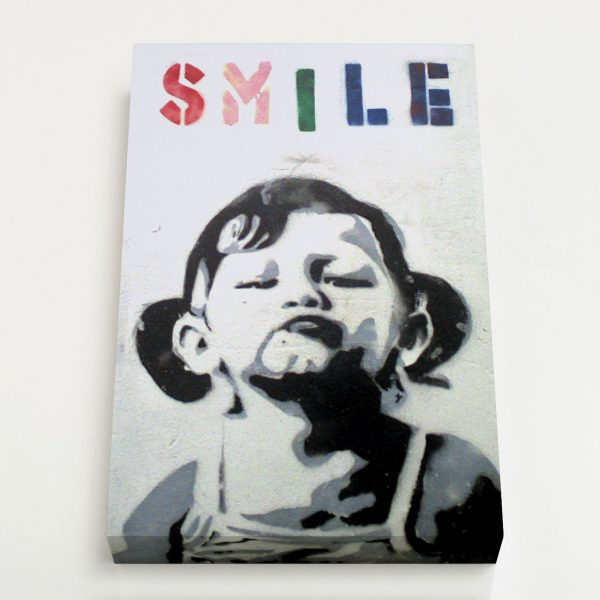 Quadro Canvas - Smile Girl 1