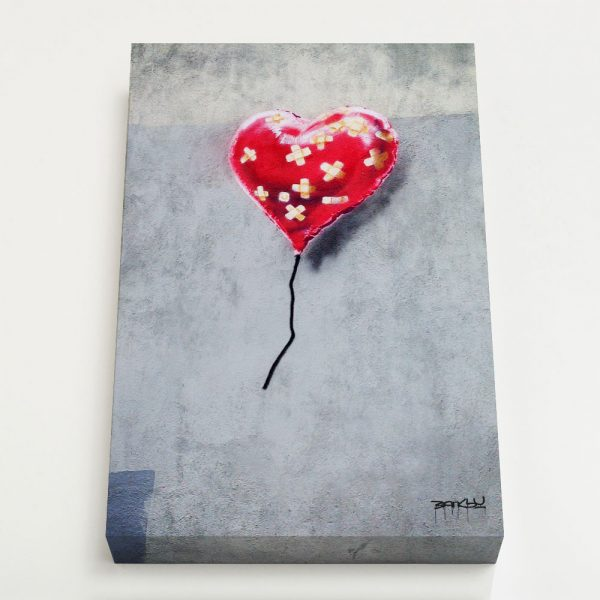 Quadro Canvas - Broken Heart Balloon 1
