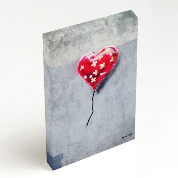 Quadro Canvas - Broken Heart Balloon 2