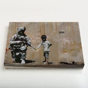 Quadro Canvas – Soldier Flower Gun Boy