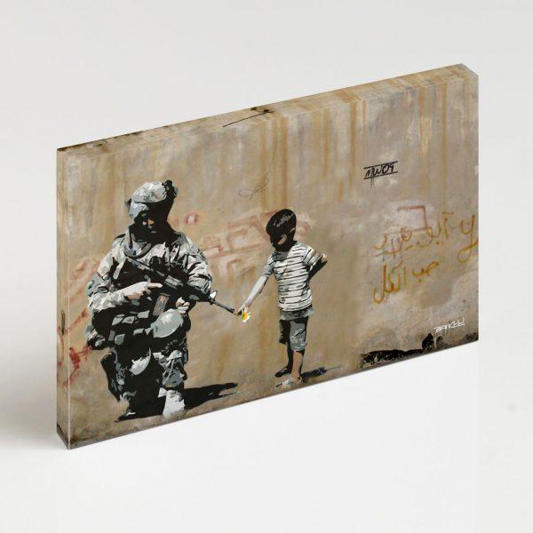 Quadro Canvas - Soldier Flower Gun Boy 2