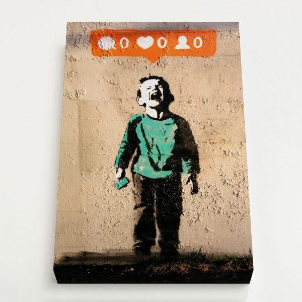 Quadro Canvas - Nobody Likes Me 1