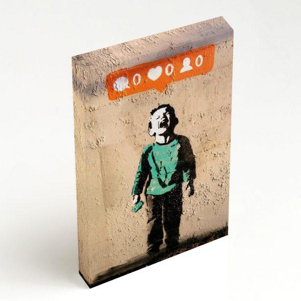 Quadro Canvas - Nobody Likes Me 2