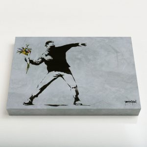 Quadro Canvas – Flower Thrower