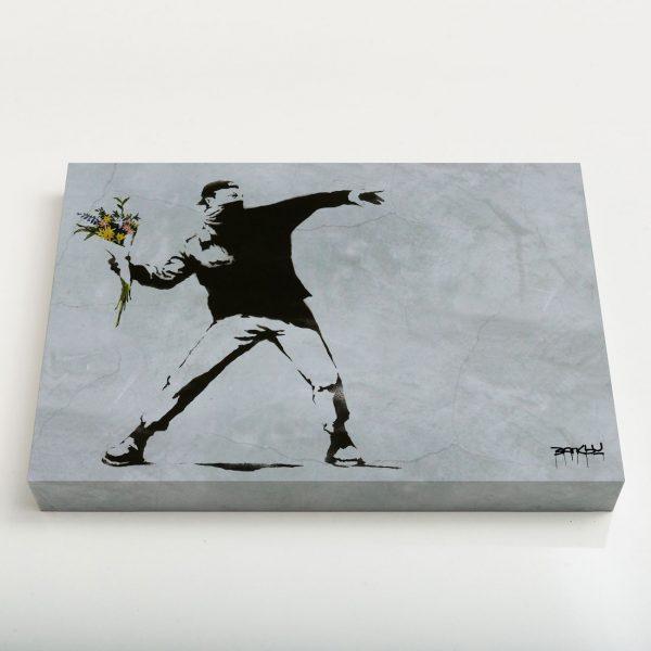 Quadro Canvas - Flower Thrower 2