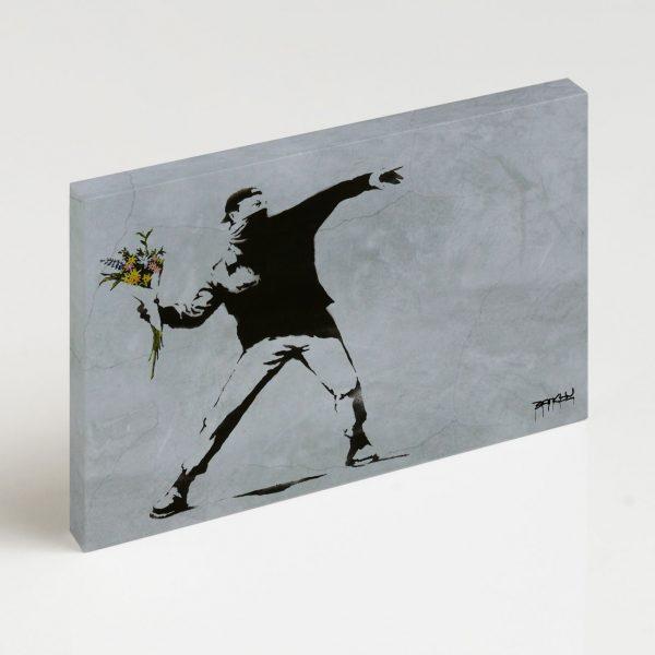 Quadro Canvas - Flower Thrower 4