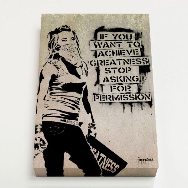 Quadro Canvas - Greatness 1