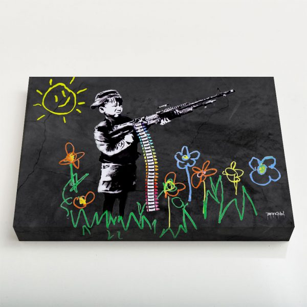 Quadro Canvas - Crayon Gun 1